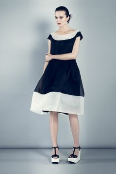 Spring 2013 RTW, Designer: Jil Sander Navy, Model: Marta Dyks