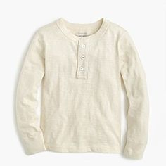 Boys' cotton henley