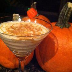 Homemade Pumkin Martini