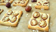Ciasteczka francuskie ze śliwkami