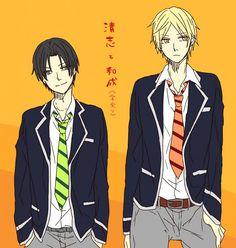 Takao Kazunari, Miyaji Kiyoshi | Kuroko no Basket | Anime & Manga