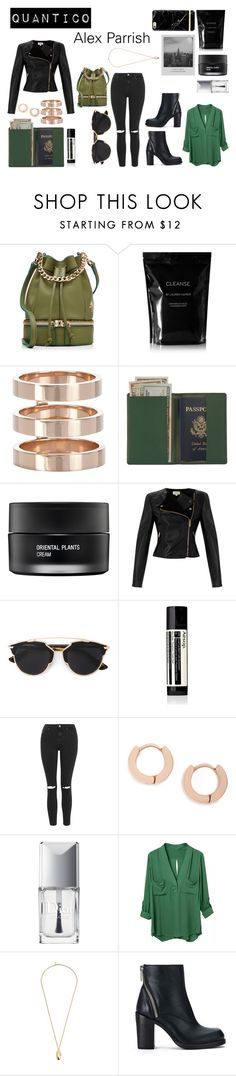 """""""Quantico : Alex Parrish"""" by stellapi19 ❤ liked on Polyvore featuring MANU Atelier, Cleanse by Lauren Napier, Repossi, Royce Leather, Koh Gen Do, Temperley London, Christian Dior, Aesop, Topshop and Pembe Club"""