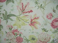 Pink-Yellow-and-Green-Floral-on-Linen-Colored-Cotton