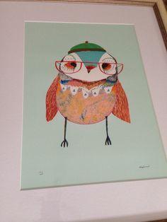 Owl by Ashley Percival