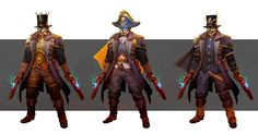 ArtStation - Pirate King character concept, Robert Kim