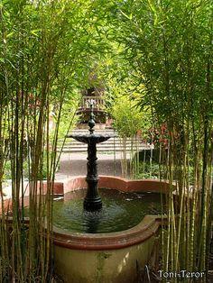 #Spain #Canarias #GranCanaria #Teror Fuente en el jardin by ToniTeror.deviantart.com on @deviantART