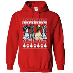 Great Dane Ugly Christmas Design D01 - #tee time #ugly sweater. GET IT => https://www.sunfrog.com/No-Category/Great-Dane-Ugly-Christmas-Design-D01-9880-Red-Hoodie.html?68278