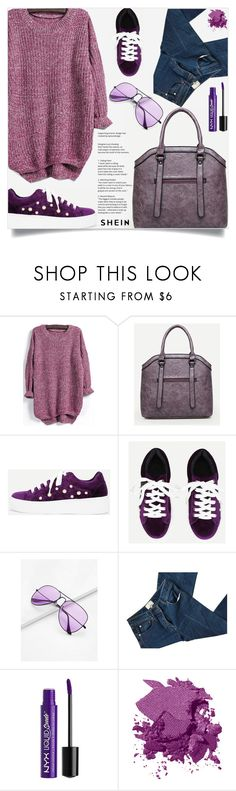 """Purple power..."" by samra-bv ❤ liked on Polyvore featuring 3.1 Phillip Lim, Charlotte Russe and Bobbi Brown Cosmetics"