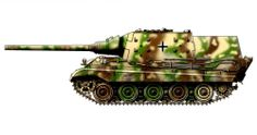 Germany - JagdTiger Tank Destroyer Camouflage, Otto Carius, Tiger Illustration, Military Drawings, Armoured Personnel Carrier, War Thunder, Tiger Tank, Tank Destroyer, Armored Fighting Vehicle