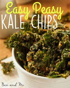 When you buy too much kale, make Easy Peasy Kale Chips