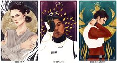 Star Wars: The Force Awakens Tarot Cards Prints available at Etsy – Other Tarot Cards: TEMPERANCE THE LOVERS DEATH THE SUN THE MOON THE CHARIOT THE STAR STRENGTH THE HIEROPHANT Do not Repost Facebook...