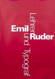 G Keller Poster: Emil Ruder