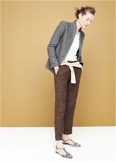 Women's J.Crew Collection : Women's Clothing | J.Crew - Mixed tweeds.