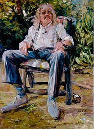 Portret Bennie Jolink Figuur Schilderij Portret Sterren