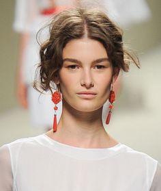 Tendances bijoux Fashion Week printemps-été 2014 Alberta Ferretti