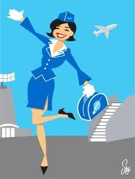 Airline Stewardess - TRAVEL!