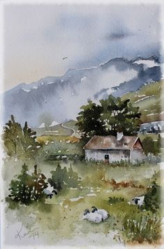 Sunday Watercolors