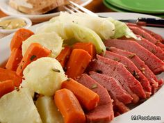 Slow Cooker Corned Beef and Cabbage | mrfood.com