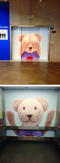 Peek-a-Boo Ikea Lift