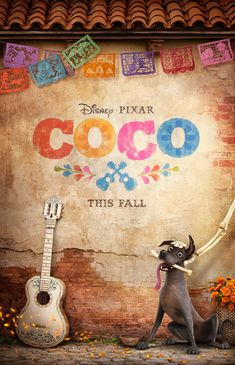 We love the new poster for Disney•Pixar's Coco!