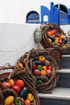 Santorini is 'Suitable for Vegetarians