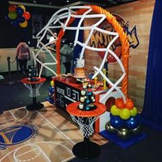Basket ball birthday party decorations balloon arch 32 ideas for 2019 Ball Birthday Parties, Birthday Balloons, Baby Birthday, Birthday Bash, Balloon Decorations Party, Party Centerpieces, Birthday Party Decorations, Basketball Party, Basketball Birthday