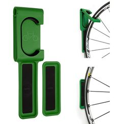 Cycloc Endo Wall Hook - Attractive indoor bike storage.