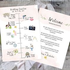 Wedding Timeline Sign / Wedding Itinerary Agenda Icons / | Etsy Wedding Icon, Card Wedding, Wedding Menu, Diy Wedding, Rustic Wedding, Wedding Reception Schedule, Wedding Weekend Itinerary, Wedding Prep, Wedding Timeline Template
