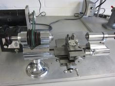Levin 8mm lathe I dont make parts this small but this things is awesome!