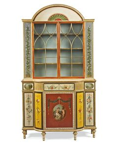 A pair of George III bookcases, English c.1790 -