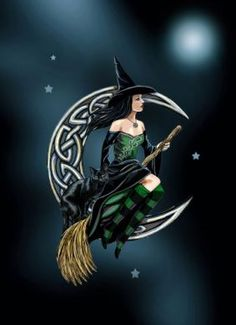 celtic moon witch