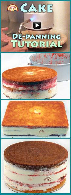 [VIDEO] How to De-pan a Filled Cake by Wicked Goodies