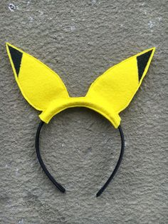 This listing is for one set of Pikachu inspired ears. Each pair is made by me on…