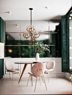 Dining room furniture ideas that are going to be one of the best dining room design sets of the year! Get inspired by these dining room lighting and furniture ideas! Room Inspiration, Interior Inspiration, Home Interior Design, Interior Decorating, Luxury Interior, Kitchen Interior, Decorating Ideas, Interior Livingroom, Decorating Websites