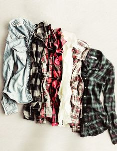 all the flannel.