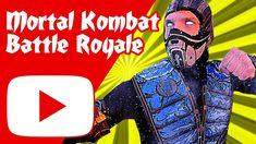 Mortal Kombat Battle Royale (mini serie) Battle Royale, Indie Movies, Mortal Kombat, Joker, Cinema, Cosplay, Fictional Characters, Ninjas, Minis