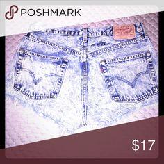 Jean shorts Jean shorts , high wasted Levi's Shorts Jean Shorts