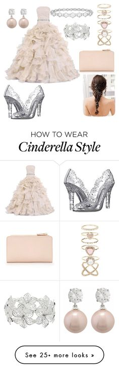"""The new Cinderella"" by charltadde on Polyvore featuring Dolce&Gabbana, M&Co, Epoque, Accessorize and Forever 21"
