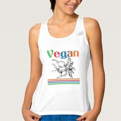 Vegan Workout Tank Top Tank Tops