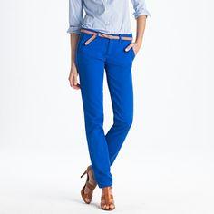Blue skinny pant
