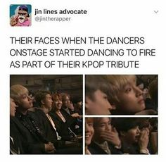 Hihi I wonder if they thought that the other group stole their dance or if they were happy