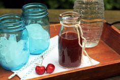 Blue Kale Road: Cherry Mint Shrub