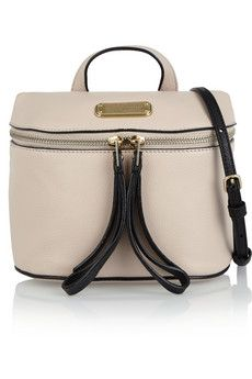 Marc by Marc Jacobs Canteen textured-leather shoulder bag | NET-A-PORTER