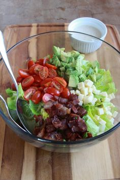 BLT summer salad