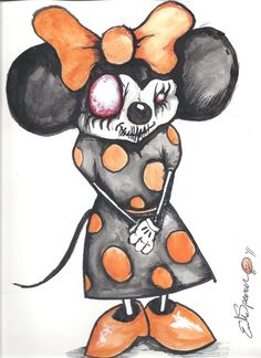 Mini Mouse by Papierschnitt on DeviantArt