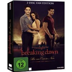 Bis(s) zum Ende der Nacht (Breaking Dawn), 2010 - mit Kristen Stewart, Robert Pattinson und Taylor Lautner  http://www.amazon.de/Breaking-Dawn-Biss-Ende-Nacht/dp/B0065FVVUW/