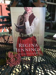 Spreading His Grace: My Bookshelf: For the Record by Regina Jennings #book #review #fiction #romance