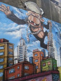 #streetart #graffiti #istanbul #kingkong