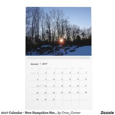 2017 Calendar - New Hampshire Nature by Traci York