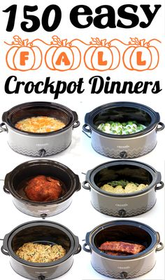 Easy Dinner Recipes for Family or Two - Crock Pot dinners that will be the EASIEST thing you'll make all week!  Go grab the delicious, cozy recipes and give some a try this week! Fall Crockpot Recipes, Crockpot Dishes, Crock Pot Cooking, Fall Recipes, Easy Dinner Recipes, Slow Cooker Recipes, Cooking Recipes, Easy Dinners, Dinner Crockpot